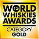 World Whisky Awards 2015- Blended Scotch Aged 21 & Over (Gold)